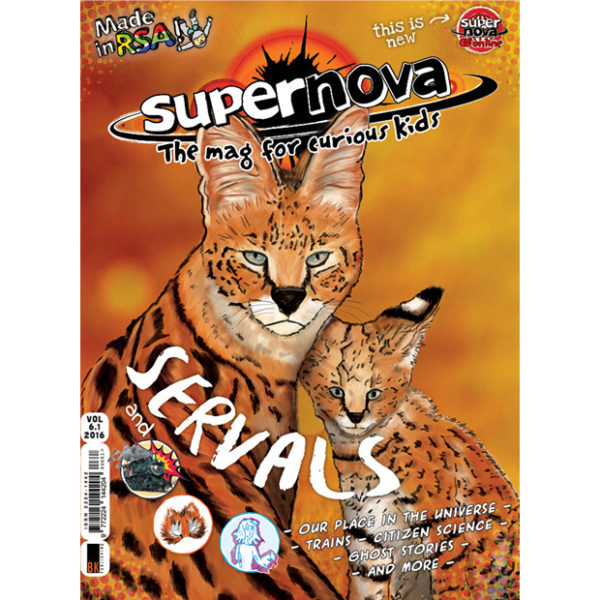 Supernova - the mag for curious kids Vol 6.1