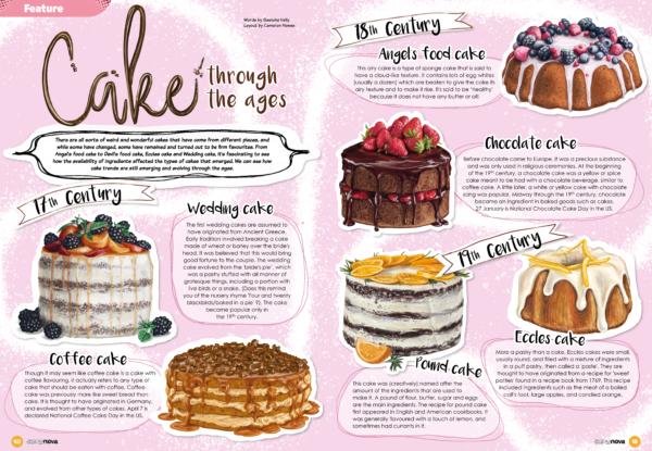 Cakes throughout the ages