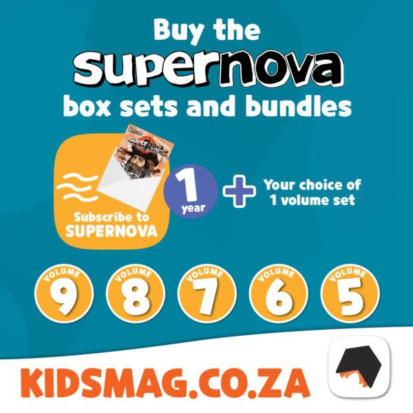 Supernova volume set + 1 year subscription